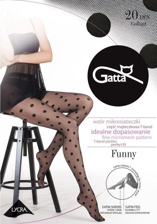Gatta Funny 07 Tights Nero Black