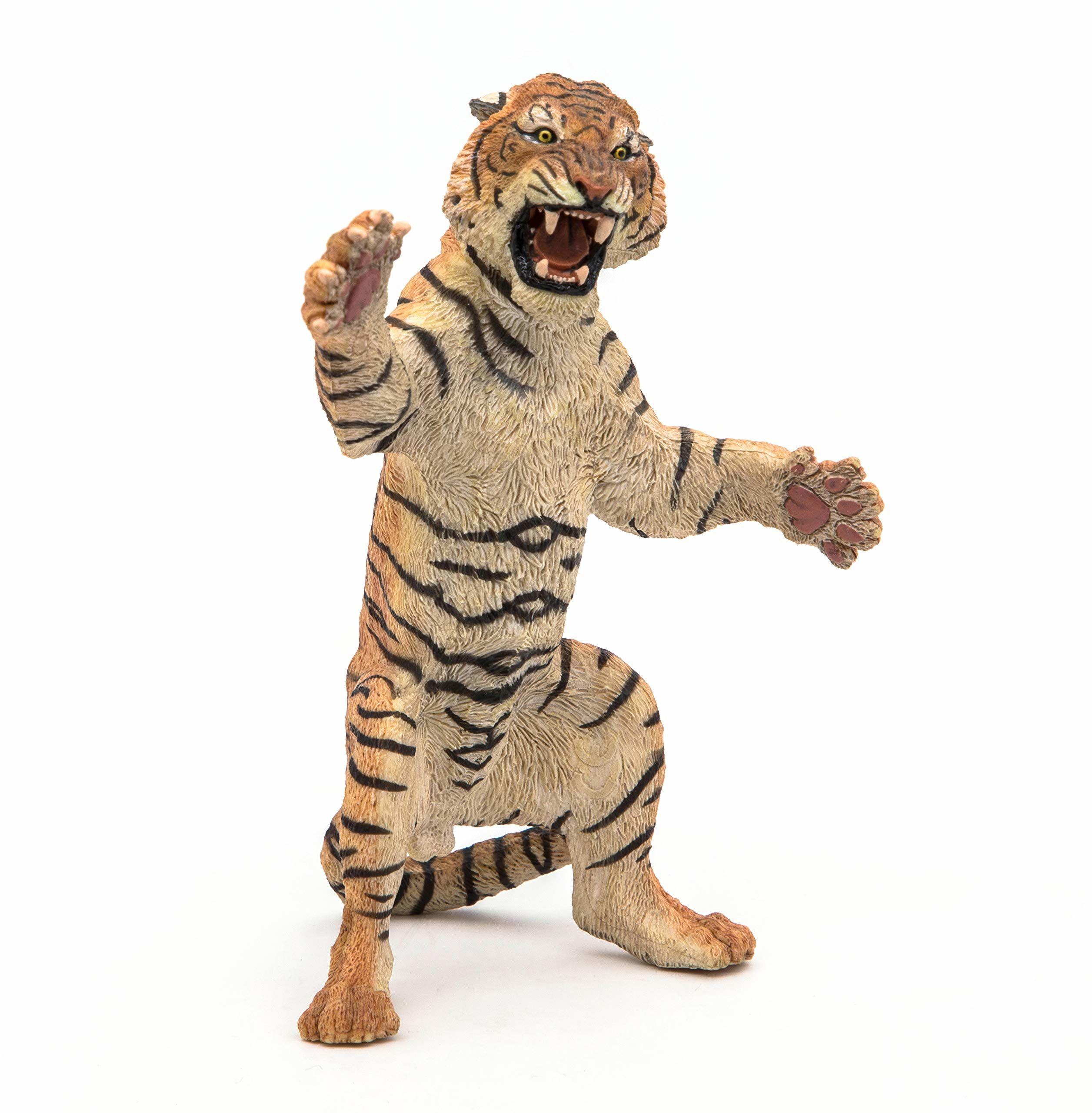 Papo 50208 stojący tygrys, wielokolorowy