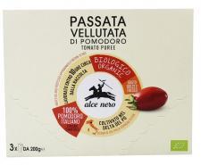 Sos pomidorowy passata BIO 3x200g Alce Nero