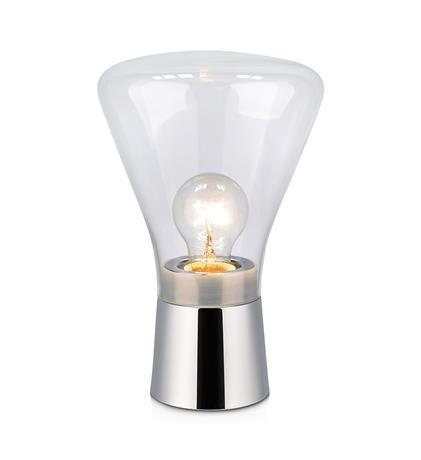 Lampa na stół JACK table clear glass/chrome 106799 - Markslojd  Mega rabat przez tel 533810034  Zapytaj o kupon- Zamów