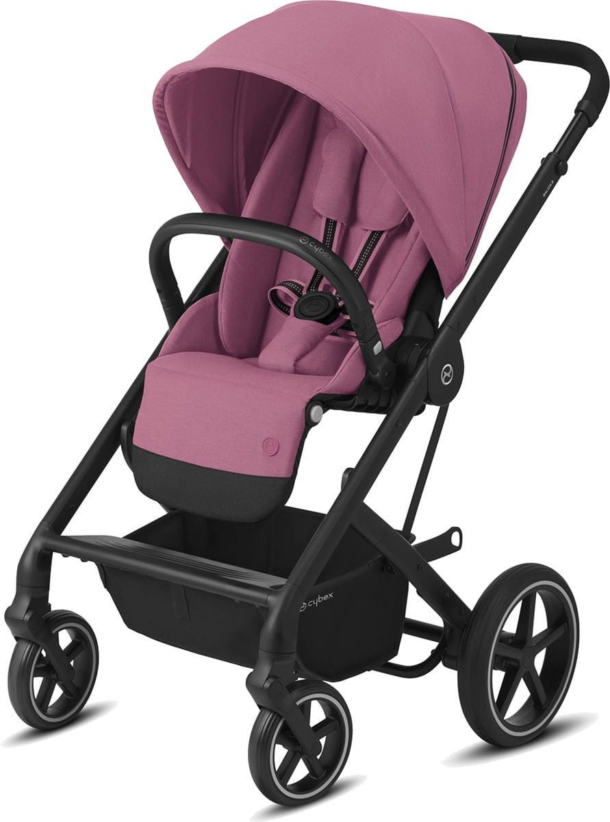 Cybex Balios S Lux Wózek Spacerowy Magnolia Pink - Black