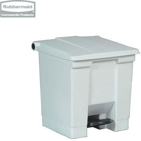 Pojemnik na śmieci Step-On Container 30,3L white