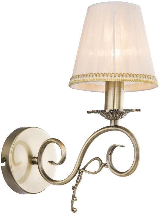 Globo GENOVEVA III 69011W kinkiet lampa ścienna antyczny brąz 1xE14 33,5cm