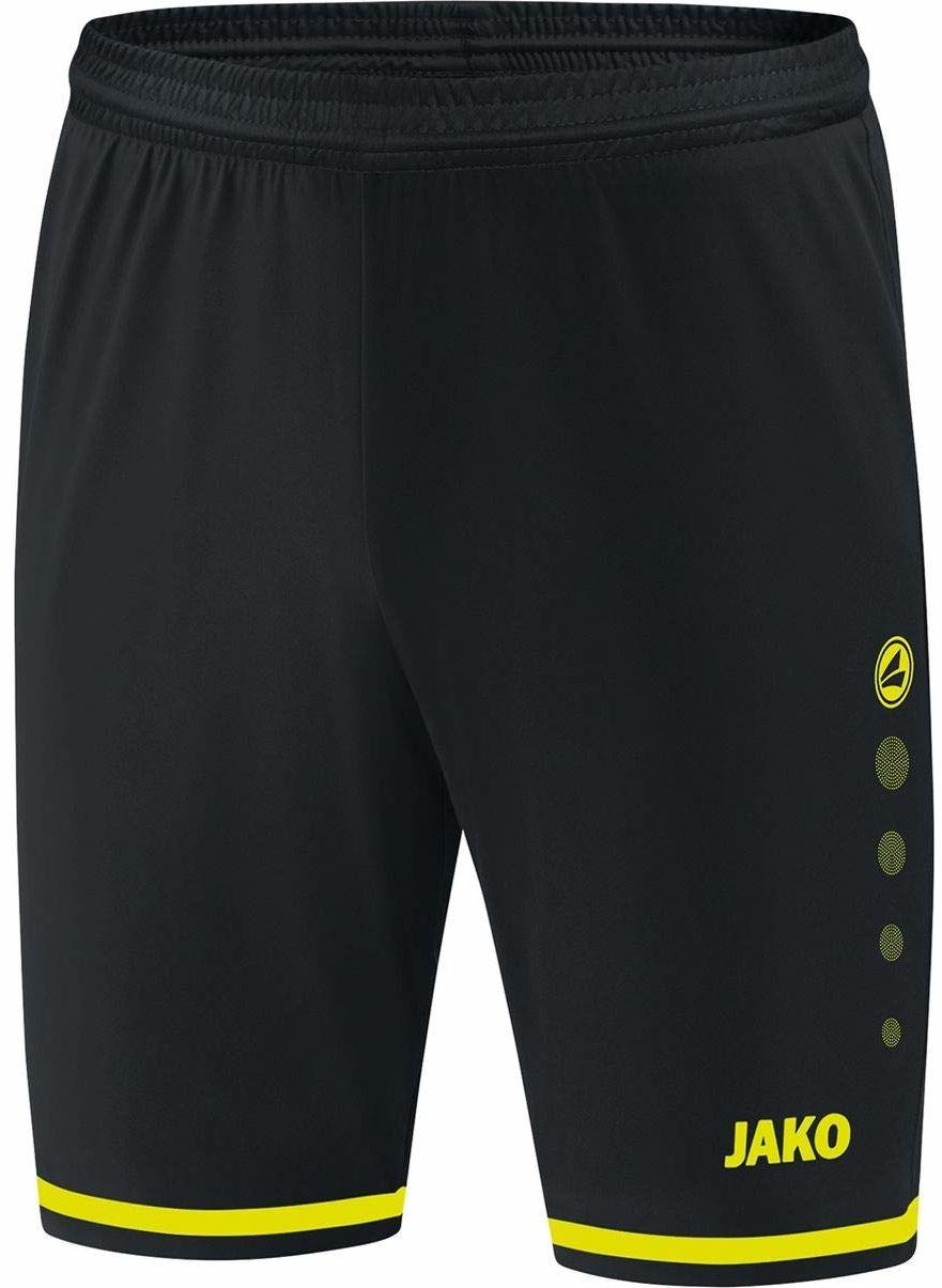 JAKO Striker 2.0 męskie spodnie sportowe do piłki nożnej czarny czarny/żółty neonowy XX-L
