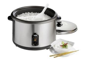 Elektryczny garnek do ryżu z funkcją utrzymywania temperatury stal nierdzewna 4,2 L 230 V