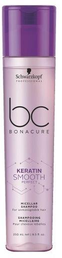 Schwarzkopf BC Smooth Perfect keratynowy micelarny szampon wygładzający 250ml