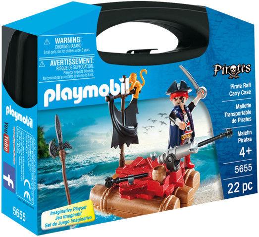 Playmobil - Skrzyneczka Tratwa piracka - 5655