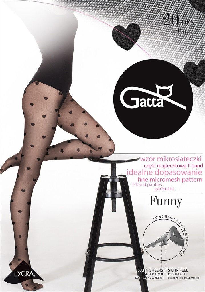 Gatta Funny 08 Tights Nero Black