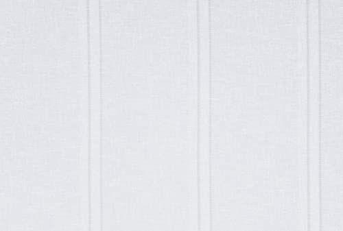 LINDER 0189/10/415/60 x 160 przeszklony Tag len biały karnisz