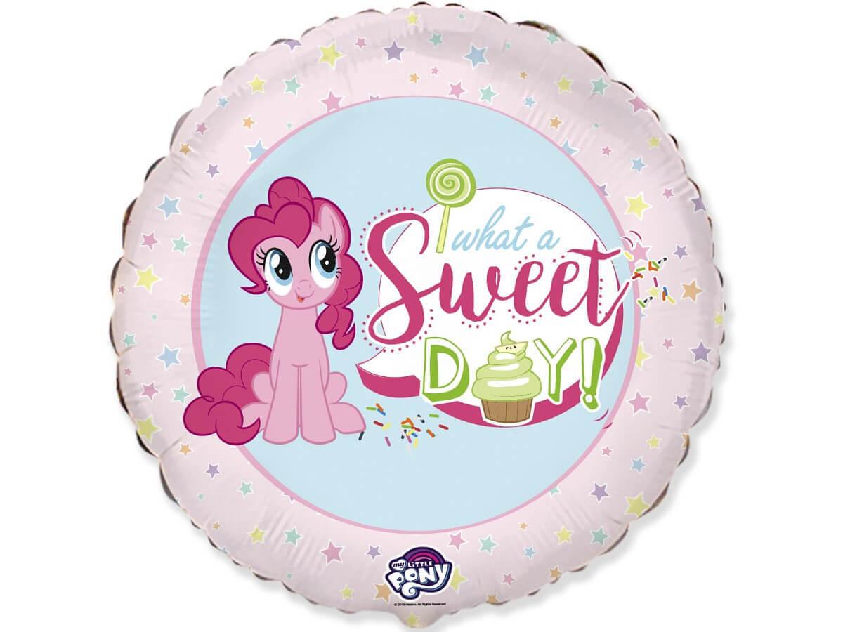 Balon foliowy My little Pony Sweet Day - 47 cm - 1 szt