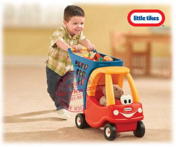 Little Tikes - Cozy Coupe z koszem na zakupy 618338