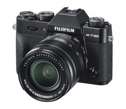 FujiFilm X-T30 + XF 18-55 mm f/2.8-4.0 OIS Czarny