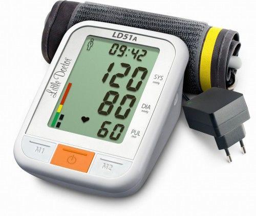 Ciśnieniomierz automatyczny + zasilacz LD51A