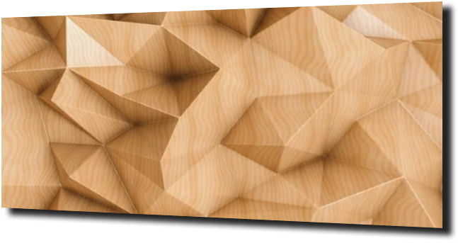 obraz na szkle Abstrakcja drewno 3D 120X60