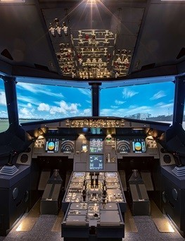 Lot zapoznawczy w symulatorze lotu  Dąbrowa Górnicza