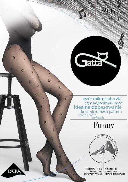 Gatta Funny 10 Tights Nero Black