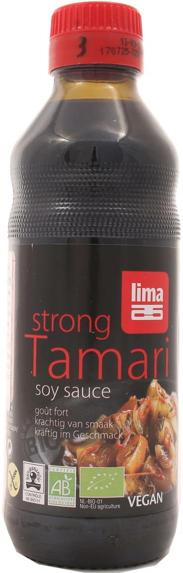 Sos sojowy tamari mocny bezglutenowy BIO - Lima - 250ml