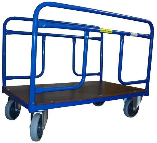 Dwuporęczowy wózek platformowy (1000x600), 300 kg
