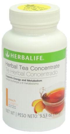 HERBALIFE Herbatka Rozpuszczalna Thermojetics 100g - brzoskwiniowy smak
