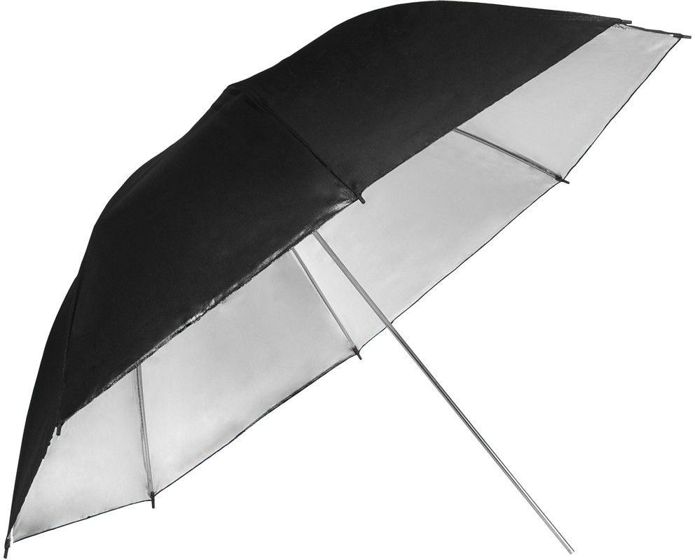 Parasolka srebrna GlareOne 76cm