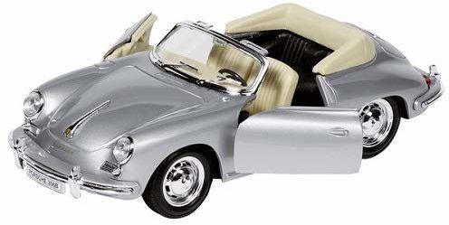 Welly Porsche 356B kabriolet, formowanie wtryskowe, 1:24
