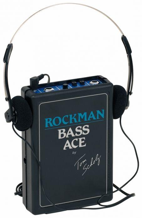 Dunlop Rockman Bass Ace  wzmacniacz słuchawkowy do gitary basowej