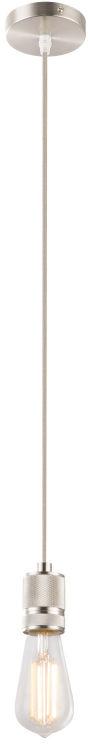 Globo OLIVER A20 lampa wisząca 1xE27 nikiel-mat antracyt 1xE27 10cm