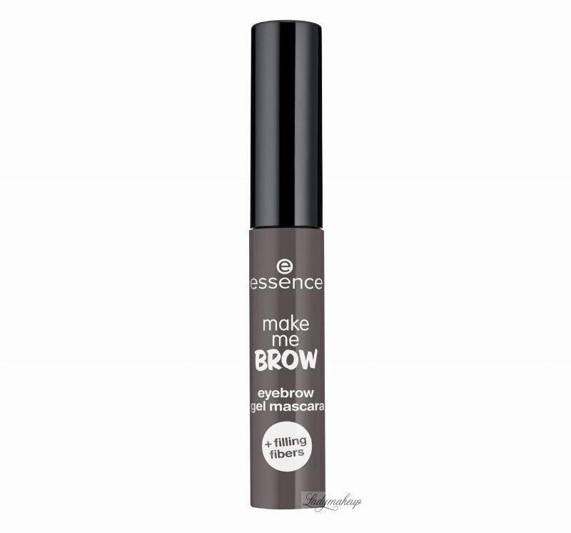 Essence - Make me brow - Eyebrow gel mascara - Żelowa maskara do brwi - 04 - ASHY BROWS