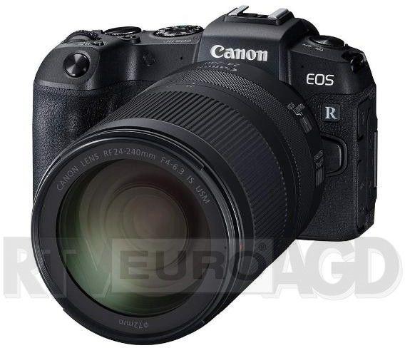 Canon EOS RP + RF 24-240mm f/4-6.3 IS USM Czarny