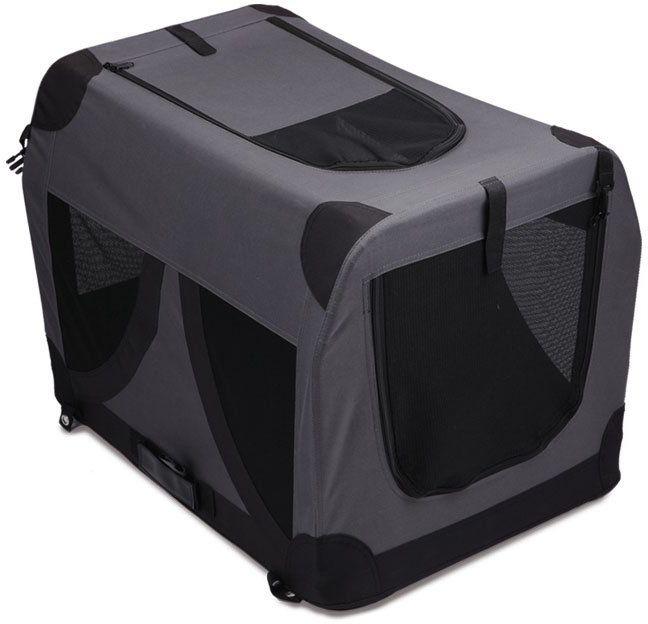 mpets Comfort klatka transportowa dla psów, rozmiar M