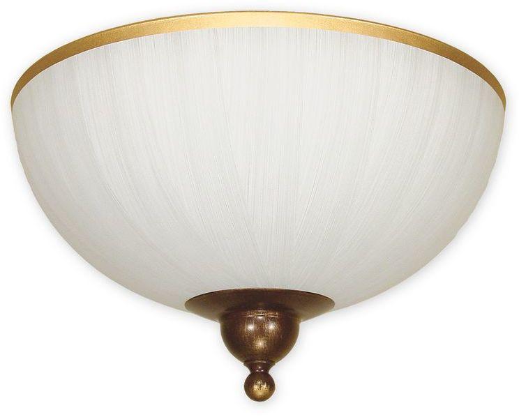 Flex plafon 2 pł. / brązowy + zdobienie złotem