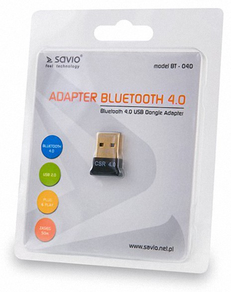 Adapter SAVIO BT-040