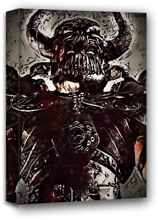 Legends of bedlam, sarevok, baldur''s gate - obraz na płótnie wymiar do wyboru: 90x120 cm