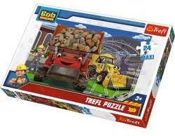 Puzzle 24-Maxi Damy radę! Bob Budowniczy 14246 Trefl (14246 TREFL)