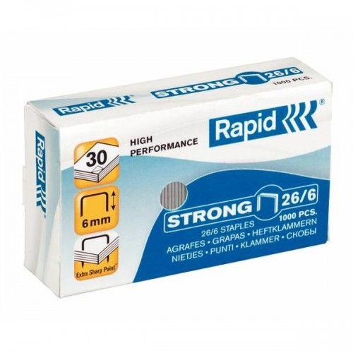 Zszywki RAPID Strong 26 / 6 1M (1000)
