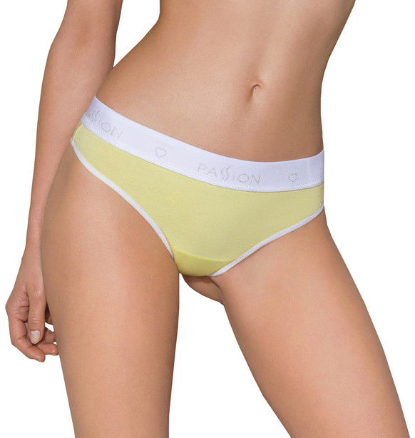 Passion PS007 Panties Yellow