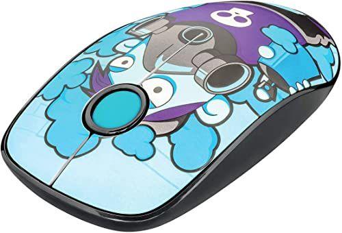 Trust Sketch bezprzewodowa mysz Silent-Click - niebieska