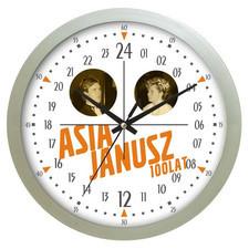 Zegar ścienny LOGO 24-godzinny