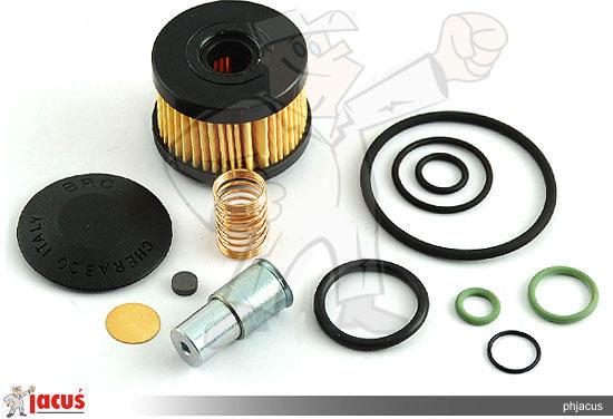 B10 Komplet naprawczy elektrozaworu BRC ET98 filtr do brc