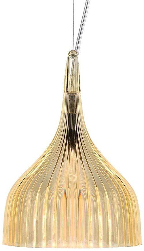 Lampa Kartell 09040P4 E, E14, żółta