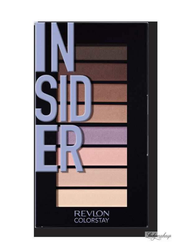 Revlon - LOOKS BOOK PALETTE - Mini paleta cieni do powiek - 940 INSIDER