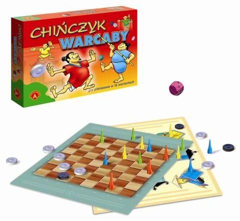 Chińczyk warcaby gra planszowa