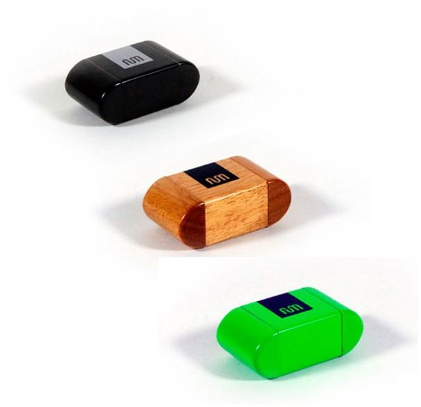 Fum-Box Mini  pojemnik na susz - Czarny