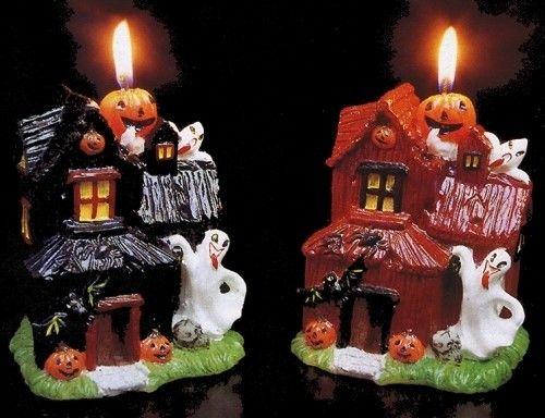 Halloween Świeczka Domek 5256 E