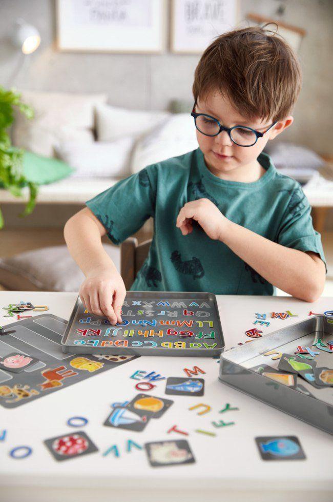 Magnetyczna gra dla dzieci Trening alfabetu HB305049-Haba, puzzle i układanki