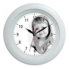 Zegar ścienny LOGO plastik classic
