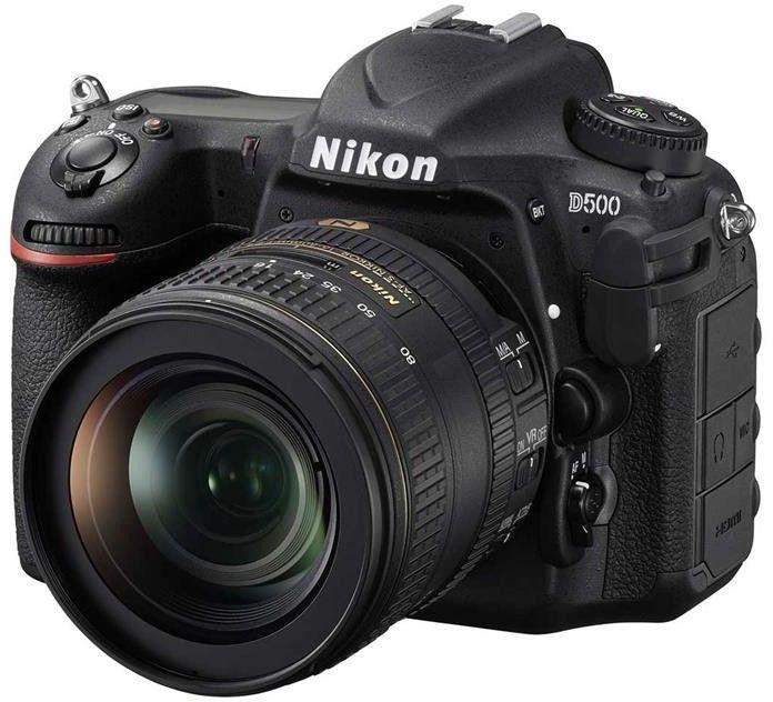 Nikon D500 Body Czarny+ Nikkor AF-S DX 16-80 f/2,8-4E ED VR+ Sandisk SDHC 32GB+ Gwarancja 3 lata