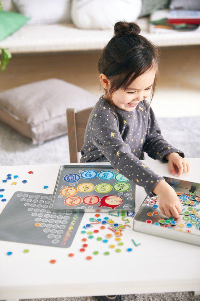 Magnetyczna gra dla dzieci Ale Numer HB305050-Haba, puzzle i układanki