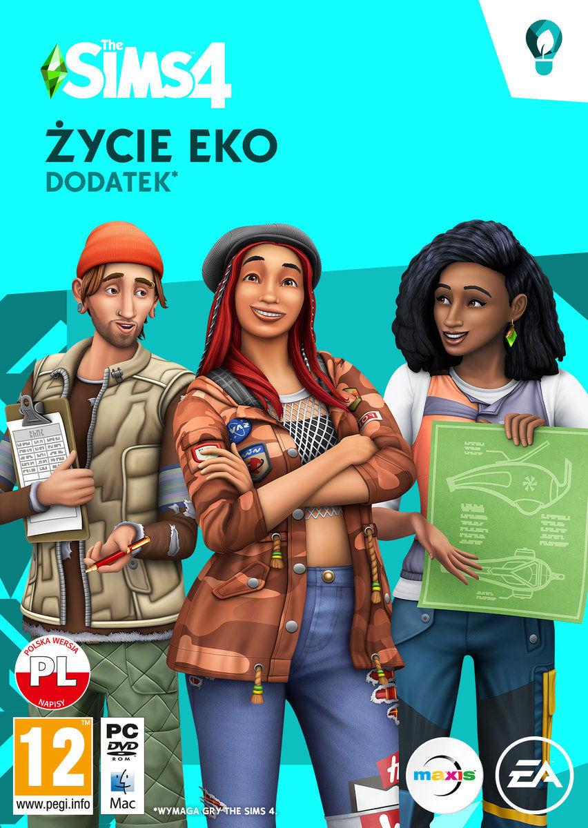 The Sims 4 Życie Eko - Klucz aktywacyjny Origin Automatyczna wysyłka w ciągu 5 minut 24/7!