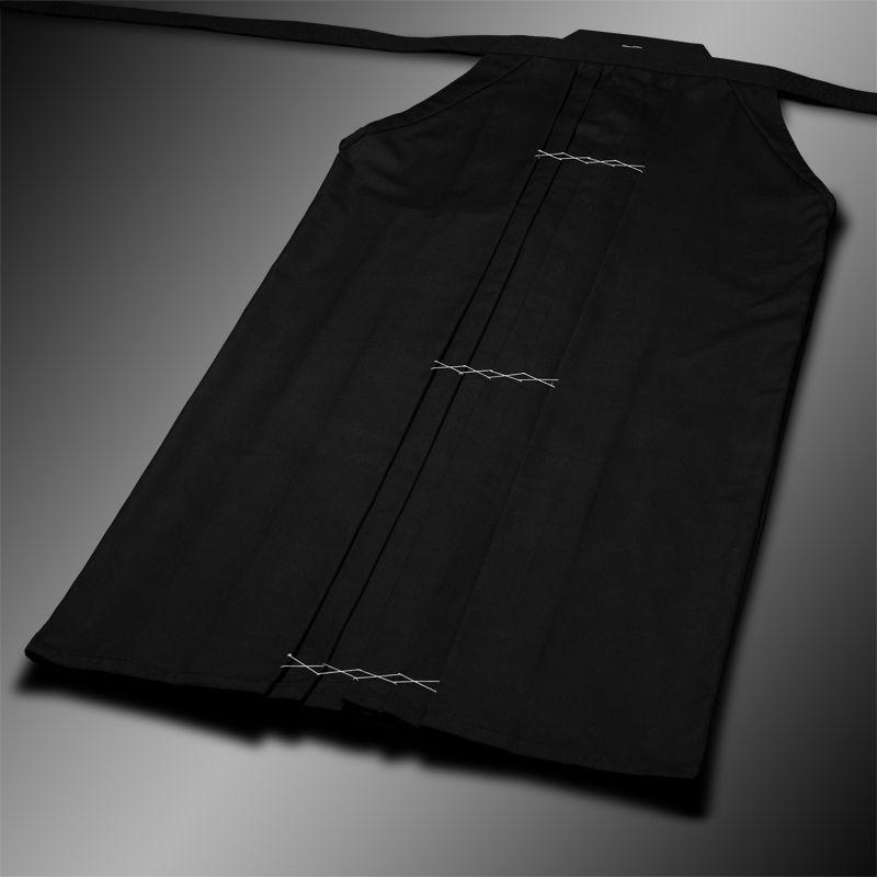 standard rayon-poly hakama (czarny, szt.jedwab-polyester)
